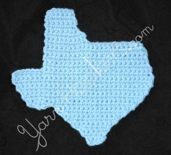 Written Crochet Pattern Texas Hot Pad Pot By Yarnhookers On Zibbet