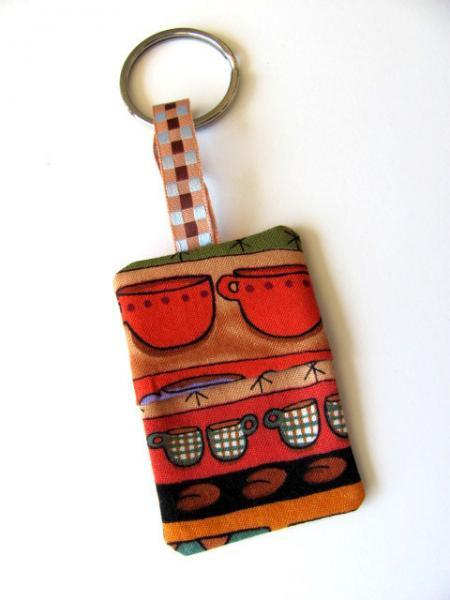 Coffee Time Money Key Chain Free US Shipping