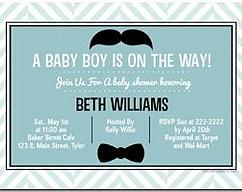 Minnie mouse baby shower invitations by uprintinvitations on zibbet mustache bash little man baby shower invitations filmwisefo
