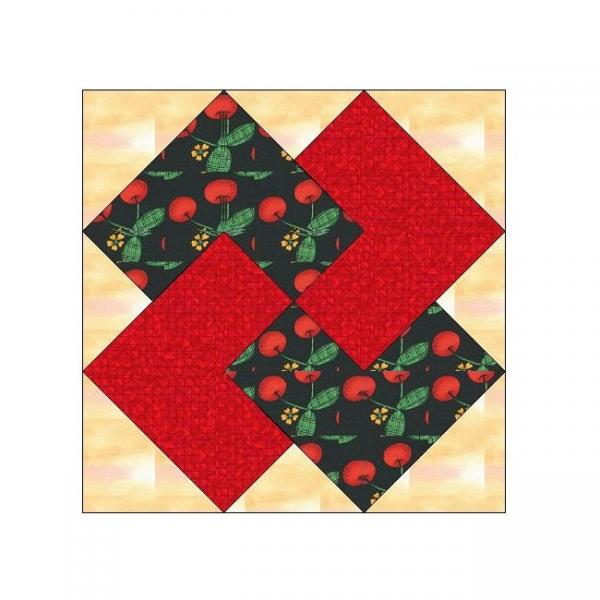 all stitches  card trick paper piecing quilt  allstitches