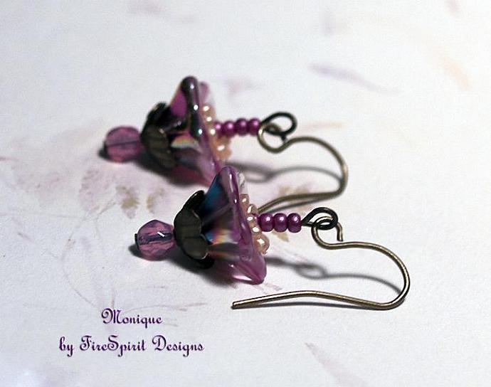 Monique- handmade artisan earrings