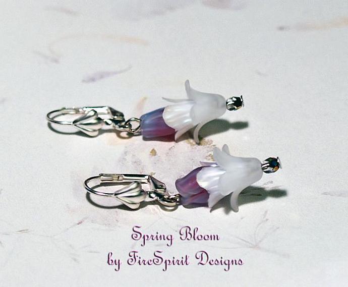 Spring Bloom- handmade artisan earrings