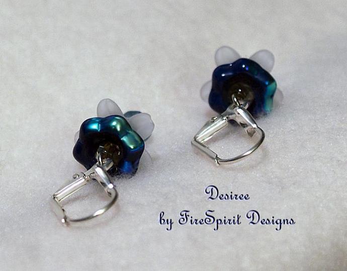 Desiree- handmade artisan earrings