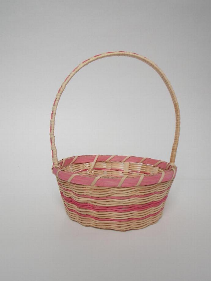Woven Easter Basket, Flower girl Basket