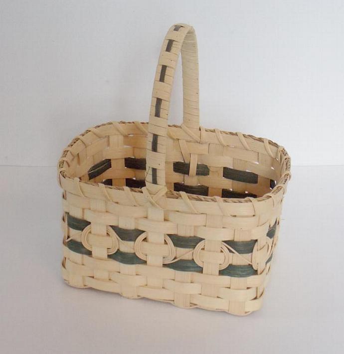 Easter Basket, Flower girl basket, Small Market Basket
