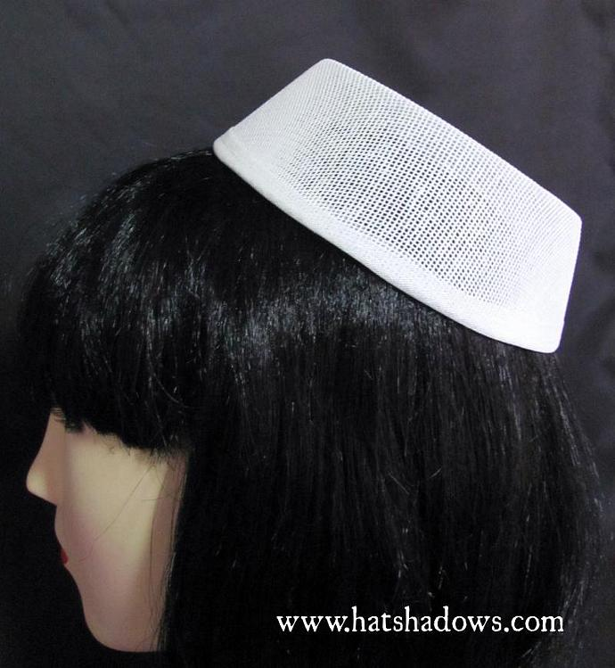 Pillbox Buckram Hat Frame for Millinery and Hat | hatshadows