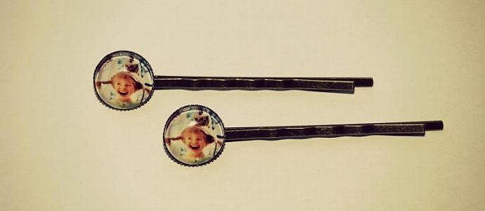 "Bobby pin ""Pippi Longstocking"""