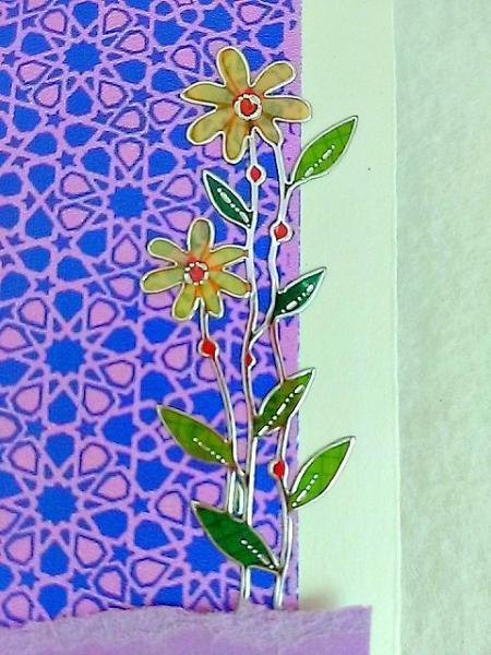 Farsi Nowrūz Springing Flowers Card