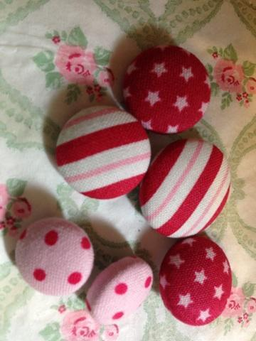 Tilda Fabric Buttons