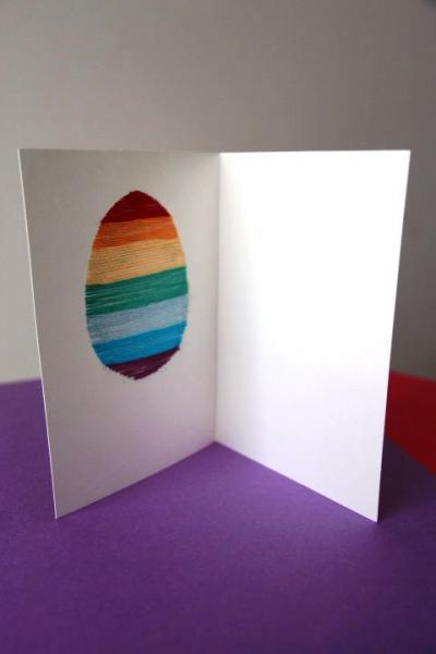 A simple but elegant personal Easter egg card to warm hearts. Spring fever gift