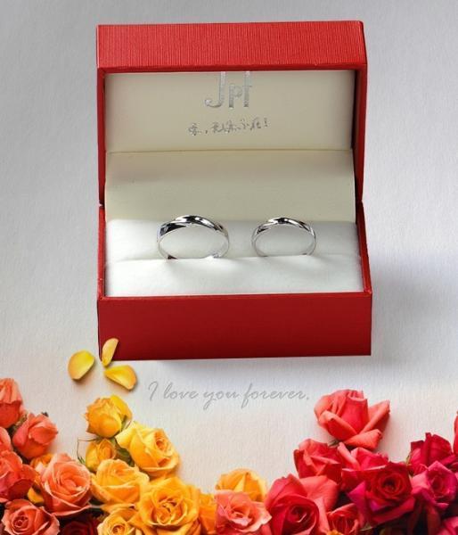 2pcs Free Engraving-Platinum Plating rings, Wedding Couple Rings, Lovers rings,