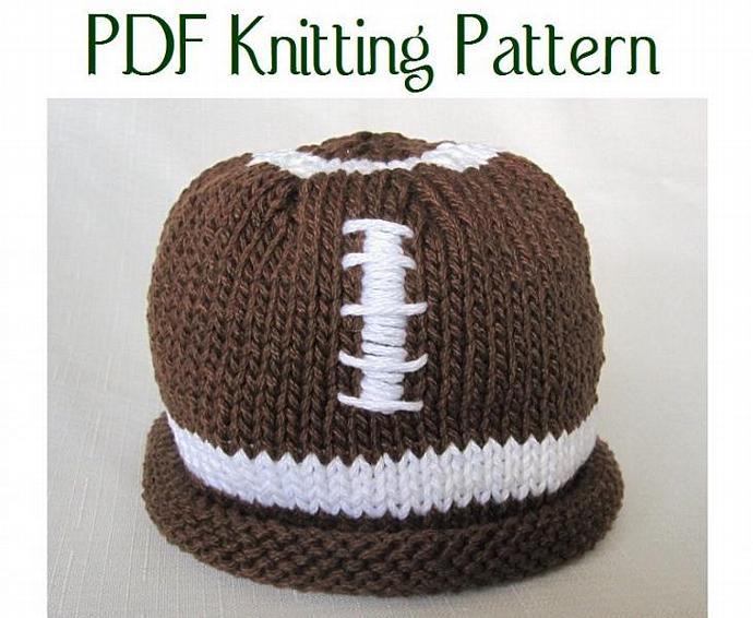 Boston Beanies Baby Football Hat Pattern By Bostonbeanies On Zibbet