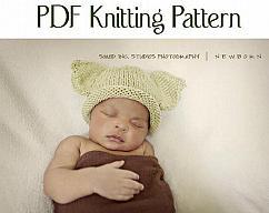 4c1430533d2 Boston Beanies Baby Puppy Hat pattern