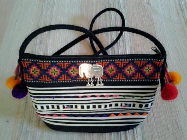 Lisu pattern classic bag versatile cotton by ningnet on zibbet