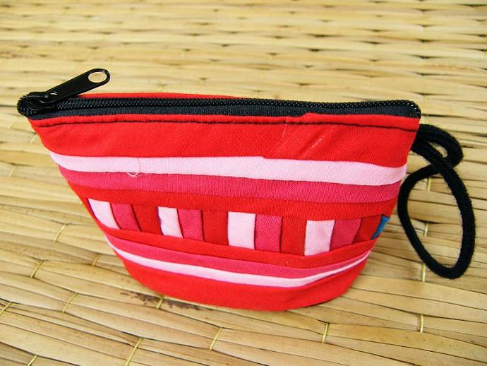 Lisu Pattern/ Classic Bag/ Versatile/ Cotton/ Applique (Handbag small-sized)