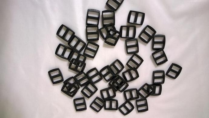 "5/8"" Plastic Tri Glide Adjust Slider Buckles - set of 10 -100073"