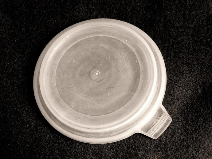 Foley Store N Server Plastic Lid Replacement Part for Condiment Dish (used, with