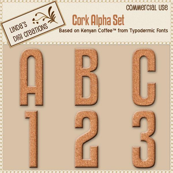 Cork Alpha Set