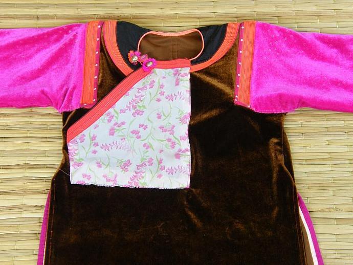 Lisu Style/ Colorful / Versatile/ Velvet / Applique (Girls Lisu Dress mini)