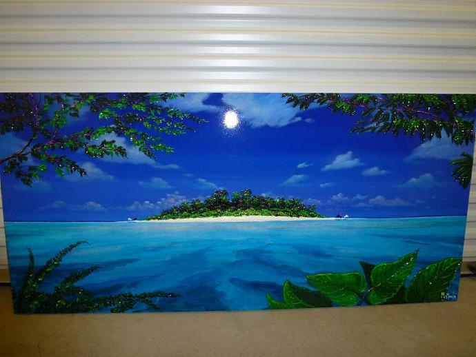 """Painting """" I CARAIBI """""""