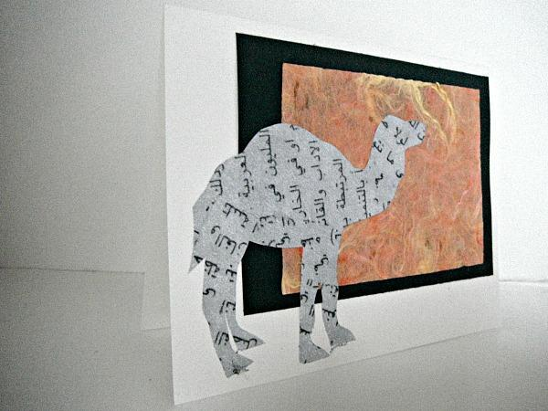 Talking Camel Greeting Card