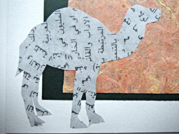 Talking Camel Greeting Card