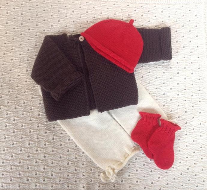 Baby Hat and Sock Gift Set