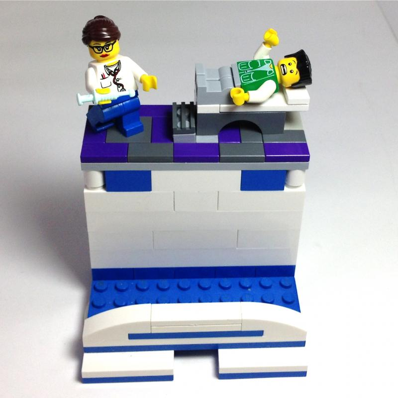Custom business card holder made w lego by brickshtick on zibbet reheart