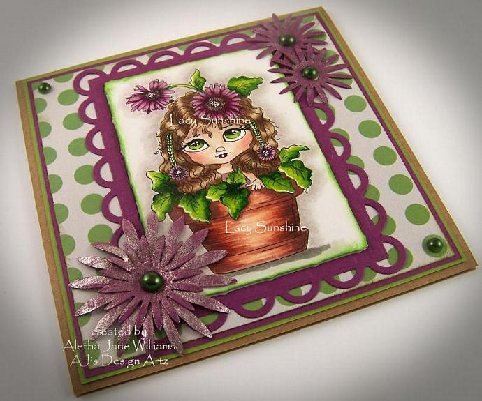 Daisies Handmade Greeting Card