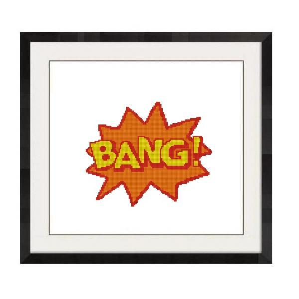ALL STITCHES - BANG CROSS STITCH PATTERN .PDF -1003
