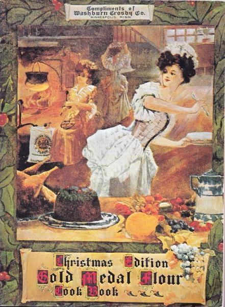 CHRISTMAS EDITION GOLD MEDAL FLOUR COOK BOOK ~ Published by General Mills