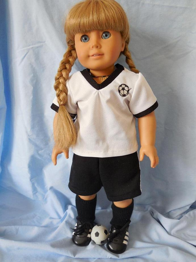 """18"""" Doll Soccer Outfit"""