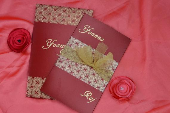 Vintage Classic Invitations JR-4486 (Set of 25) Free Shipping International