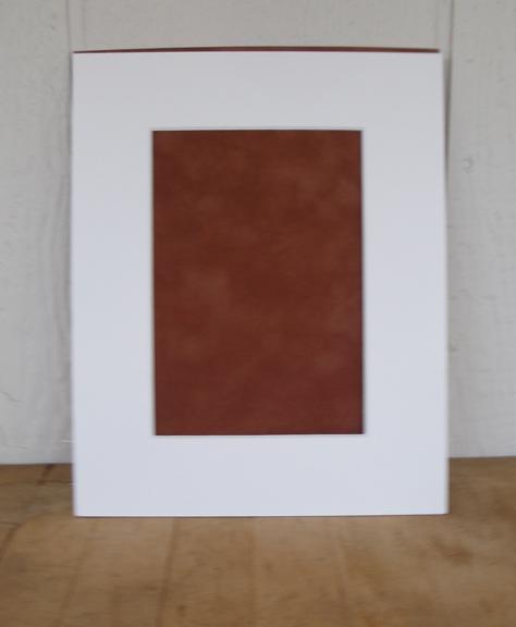 blank print mat