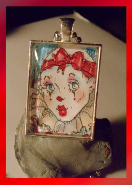 Pierrot Necklace 1 of a kind