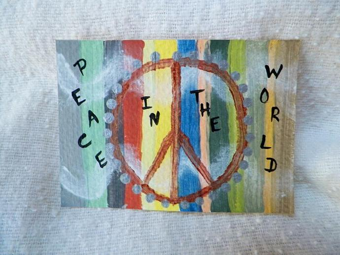 Peace ACEO