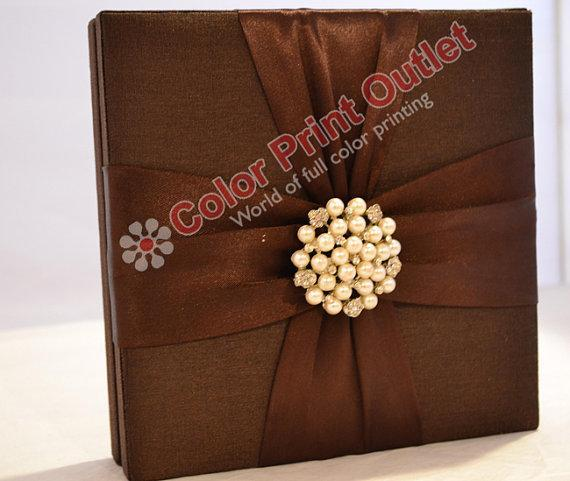 Satin Box Invitation --- DSC-96