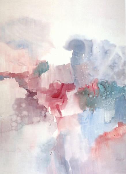 1 Left abstract print, no mat no frame
