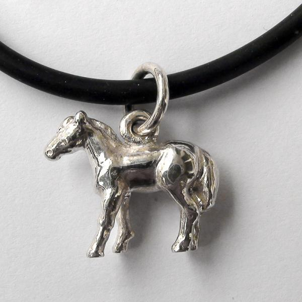 "Original work Sterling Silver pendant ""Horse"""