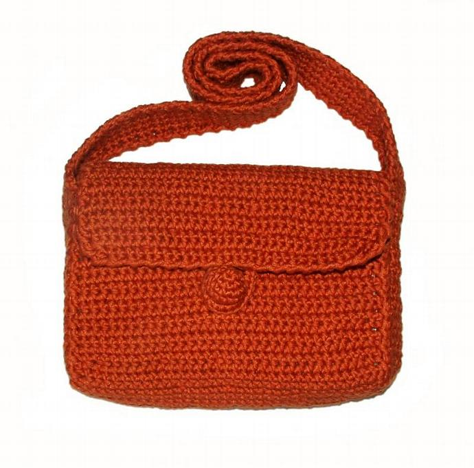 Basic Crochet Bagpurse Pdf Pattern For Rensfibreart