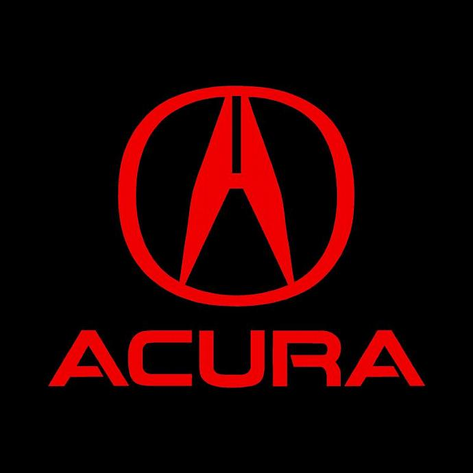 HONDA ACURA Decals Sticker X Red Vinyl Pdesigns - Acura decals