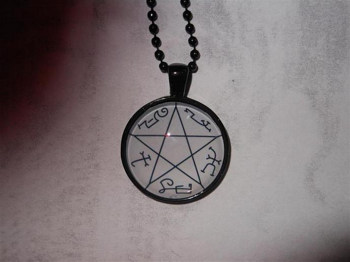 Supernatural Inspired Devils Trap By Fantasticfrippery On Zibbet