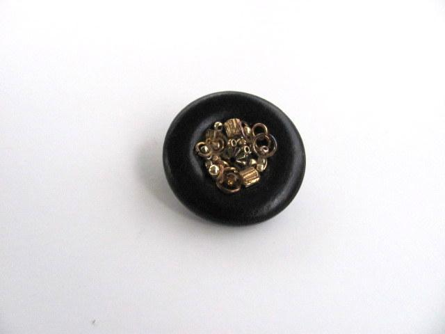 Bucket of Gold Button Pin ON SALE