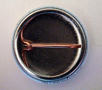 *Proud Mauritanian* Six 1 inch Button Pins