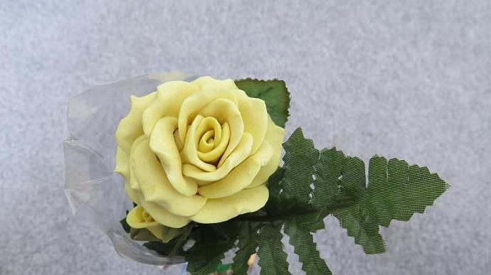 Yellow Bread Dough Rose