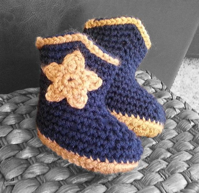 Handmade Baby Cowboy Boots Crochet Infant By Yarnitcindy On Zibbet