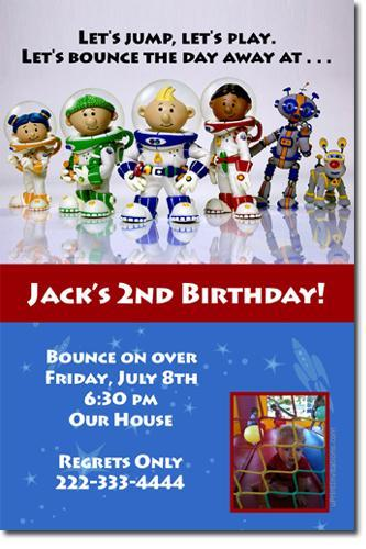 Lunar Jim Birthday Invitations (download jpg NOW)