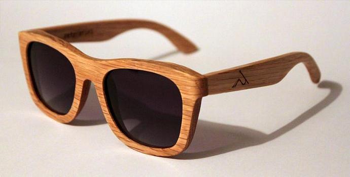 wood sunglasses overseer oak