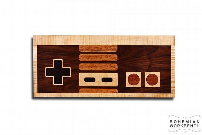 Nintendo Controller Wall Art