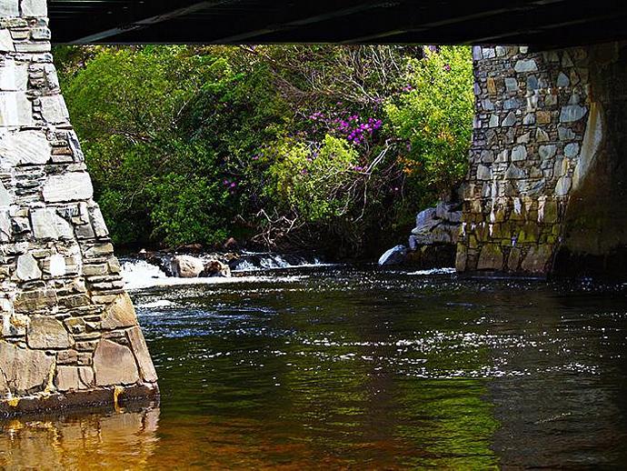 Water Under the Bridge- fine art photograph,Ireland,bridge,landscape